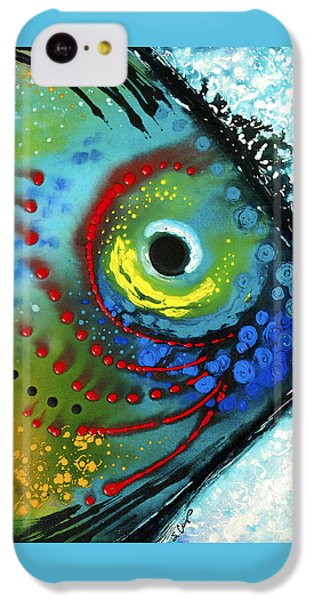 Tropical Fish - Art By Sharon Cummings IPhone 5c Case by Sharon Cummings