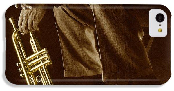 Trumpet 2 IPhone 5c Case by Tony Cordoza
