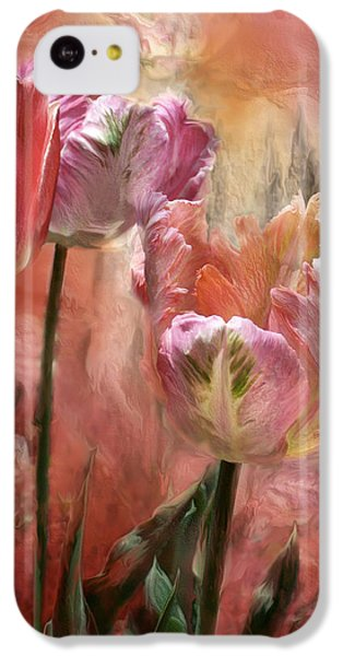 Tulips - Colors Of Love IPhone 5c Case by Carol Cavalaris