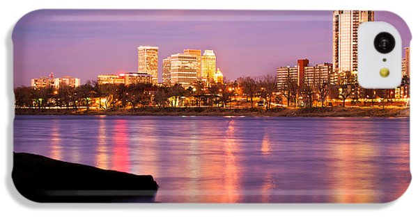 Tulsa Oklahoma - University Tower View IPhone 5c Case by Gregory Ballos