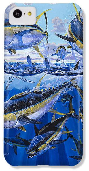 Tuna Rampage Off0018 IPhone 5c Case by Carey Chen