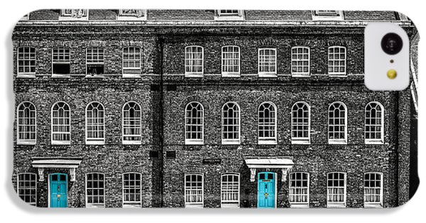 Turquoise Doors At Tower Of London's Old Hospital Block IPhone 5c Case by James Udall