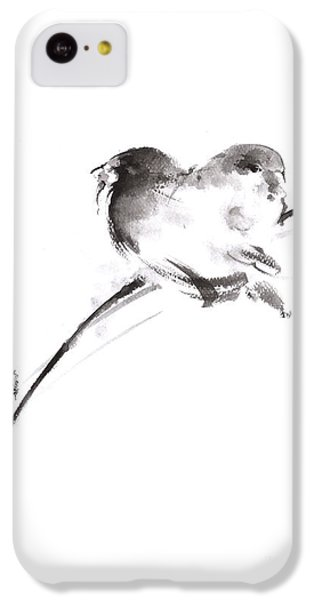 Two Birds Minimalism Artwork. IPhone 5c Case by Mariusz Szmerdt
