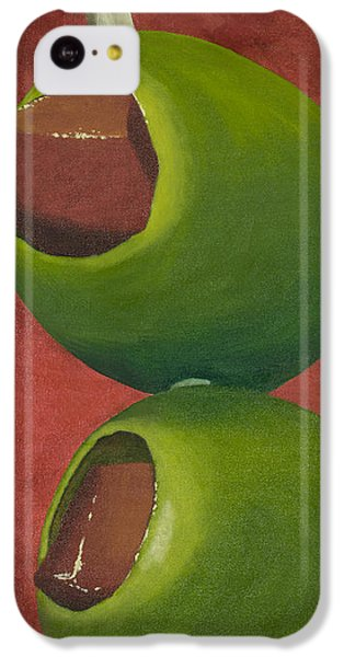 Two Olives In Search Of A Bloody Mary IPhone 5c Case by Garry McMichael