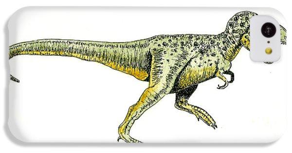 Tyrannosaurus Rex IPhone 5c Case by Michael Vigliotti