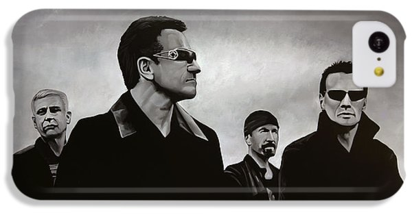 U2 IPhone 5c Case by Paul Meijering