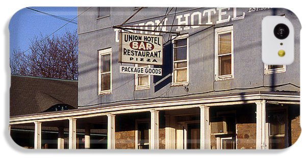 Union Hotel IPhone 5c Case by Skip Willits
