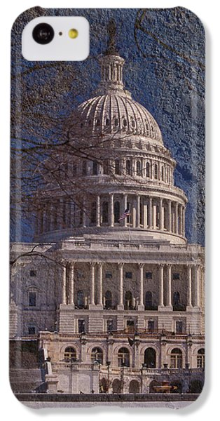 United States Capitol IPhone 5c Case by Skip Willits