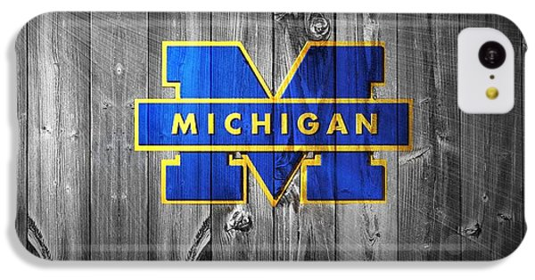 University Of Michigan IPhone 5c Case by Dan Sproul