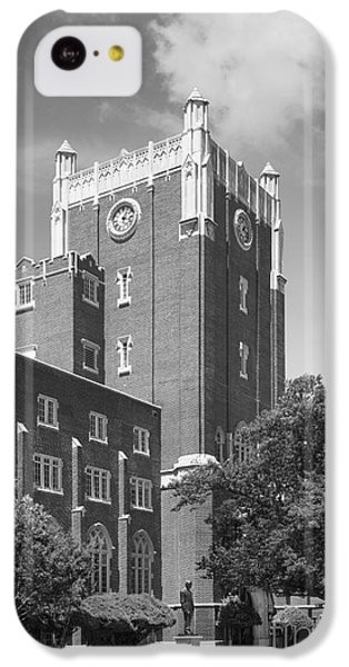 University Of Oklahoma Union IPhone 5c Case by University Icons