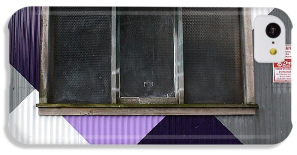 Urban Window- Photography IPhone 5c Case by Linda Woods