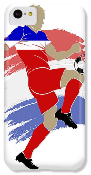 Usa Soccer Player IPhone 5c Case by Joe Hamilton