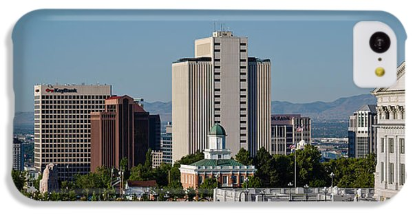 Utah State Capitol Building, Salt Lake IPhone 5c Case by Panoramic Images