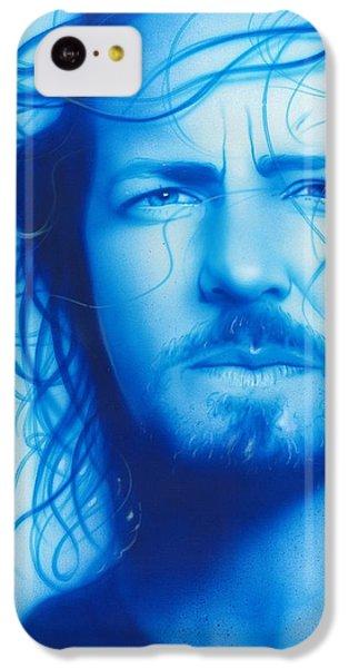 Eddie Vedder - ' Vedder ' IPhone 5c Case by Christian Chapman Art