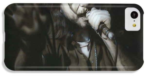 Eddie Vedder - ' Vedder IIi ' IPhone 5c Case by Christian Chapman Art