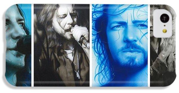 Eddie Vedder - ' Vedder Mosaic I ' IPhone 5c Case by Christian Chapman Art