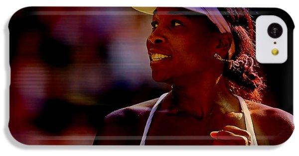 Venus Williams IPhone 5c Case by Marvin Blaine