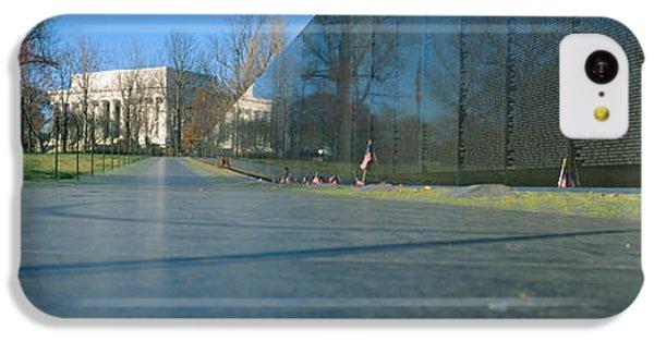 Vietnam Veterans Memorial, Washington Dc IPhone 5c Case by Panoramic Images