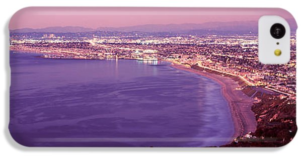 View Of Los Angeles Downtown IPhone 5c Case by Panoramic Images