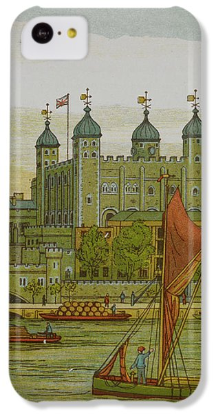 View Of The Tower Of London IPhone 5c Case by British Library