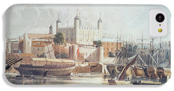 View Of The Tower Of London IPhone 5c Case by John Gendall
