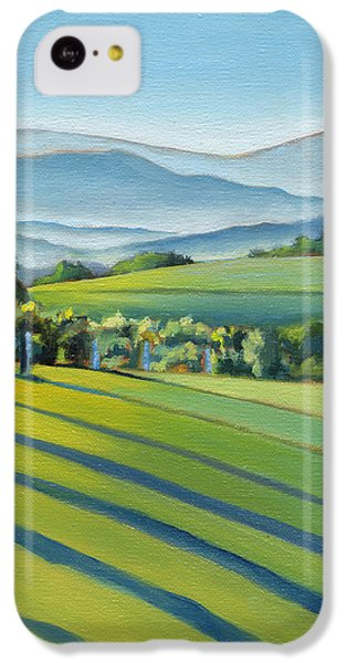 Vineyard Blue Ridge On Buck Mountain Road Virginia IPhone 5c Case by Catherine Twomey