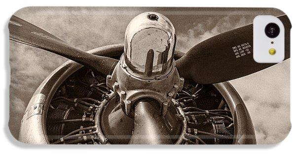 Vintage B-17 IPhone 5c Case by Adam Romanowicz