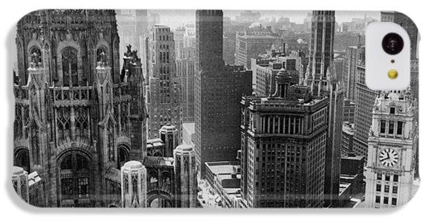 Vintage Chicago Skyline IPhone 5c Case by Horsch Gallery