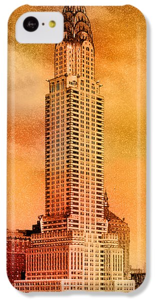 Vintage Chrysler Building IPhone 5c Case by Andrew Fare