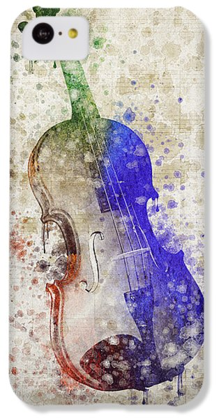 Violin IPhone 5c Case by Aged Pixel