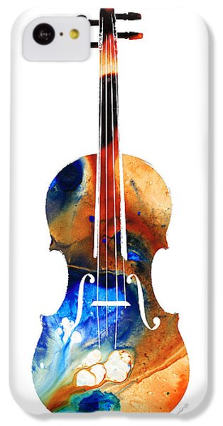 Violin Art By Sharon Cummings IPhone 5c Case by Sharon Cummings