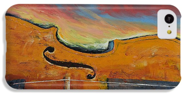 Violin IPhone 5c Case by Michael Creese