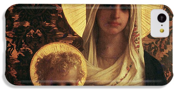 Virgin And Child IPhone 5c Case by Antoine Auguste Ernest Herbert