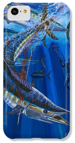 Wahoo Spear IPhone 5c Case by Carey Chen