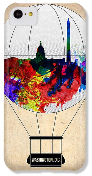 Washington D.c. Air Balloon IPhone 5c Case by Naxart Studio