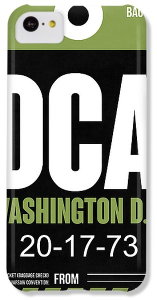 Washington D.c. Airport Poster 2 IPhone 5c Case by Naxart Studio