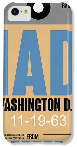 Washington D.c. Airport Poster 3 IPhone 5c Case by Naxart Studio