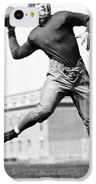 Washington State Quarterback IPhone 5c Case by Underwood Archives