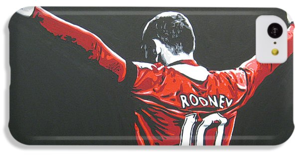 Wayne Rooney - Manchester United Fc 2 IPhone 5c Case by Geo Thomson
