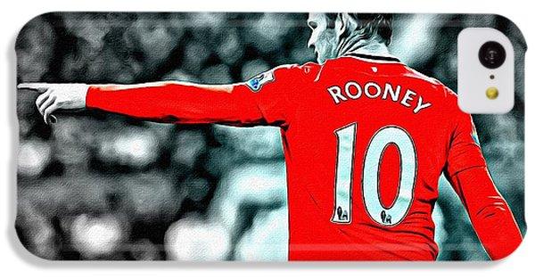 Wayne Rooney Poster Art IPhone 5c Case by Florian Rodarte
