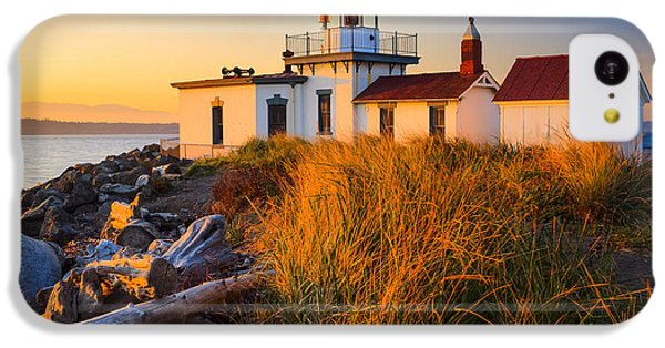 West Point Lighthouse IPhone 5c Case by Inge Johnsson
