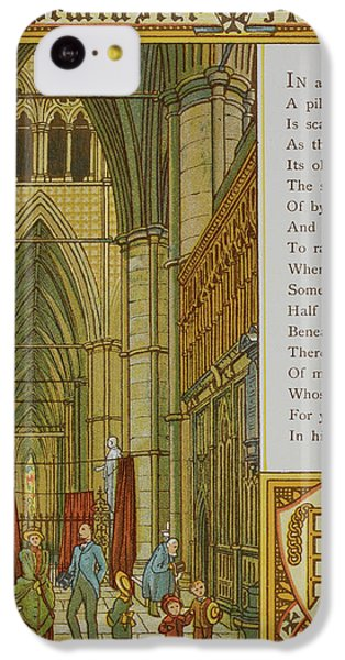 Westminster Abbey IPhone 5c Case by British Library