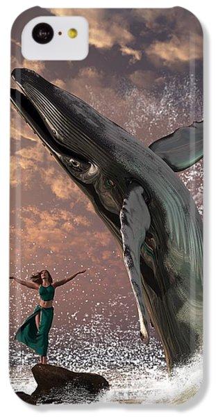 Whale Watcher IPhone 5c Case by Daniel Eskridge