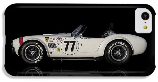 White Cobra IPhone 5c Case by Douglas Pittman