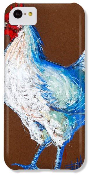 White Hen IPhone 5c Case by Mona Edulesco