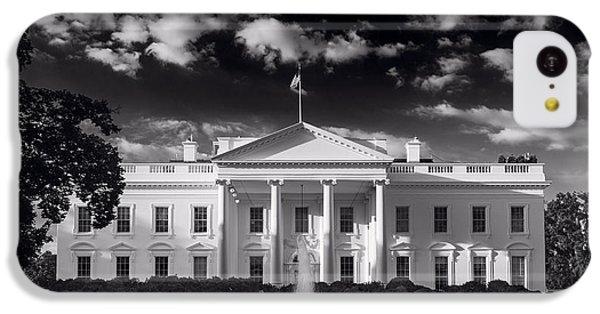 White House Sunrise B W IPhone 5c Case by Steve Gadomski