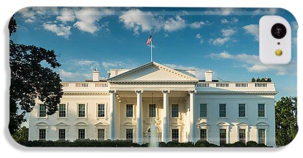 White House Sunrise IPhone 5c Case by Steve Gadomski