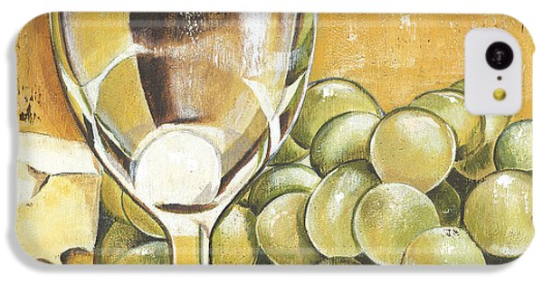 White Wine And Cheese IPhone 5c Case by Debbie DeWitt