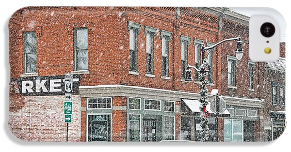 Whitehouse Ohio In Snow 7032 IPhone 5c Case by Jack Schultz
