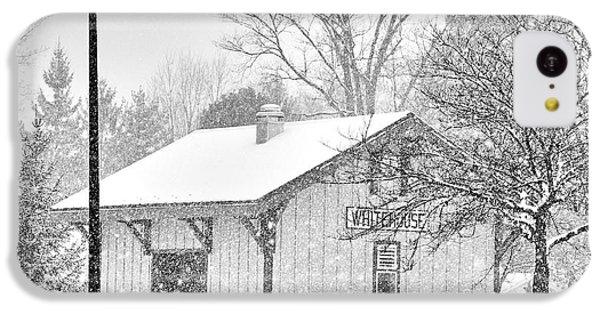 Whitehouse Train Station IPhone 5c Case by Jack Schultz